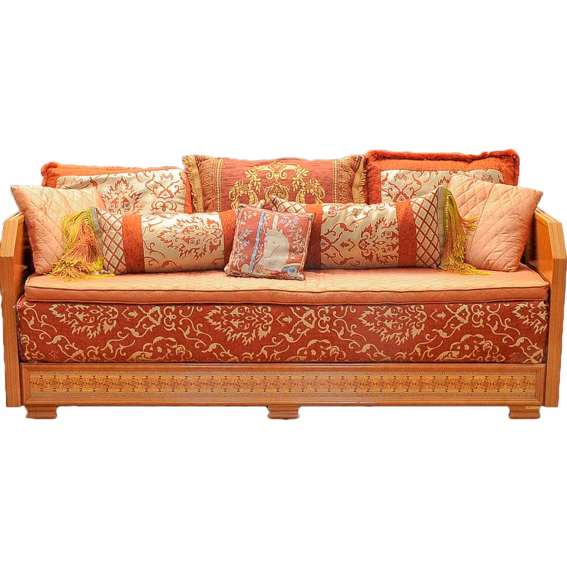 taylor king sofas old sofa recycle moroccan by richbond : ebth
