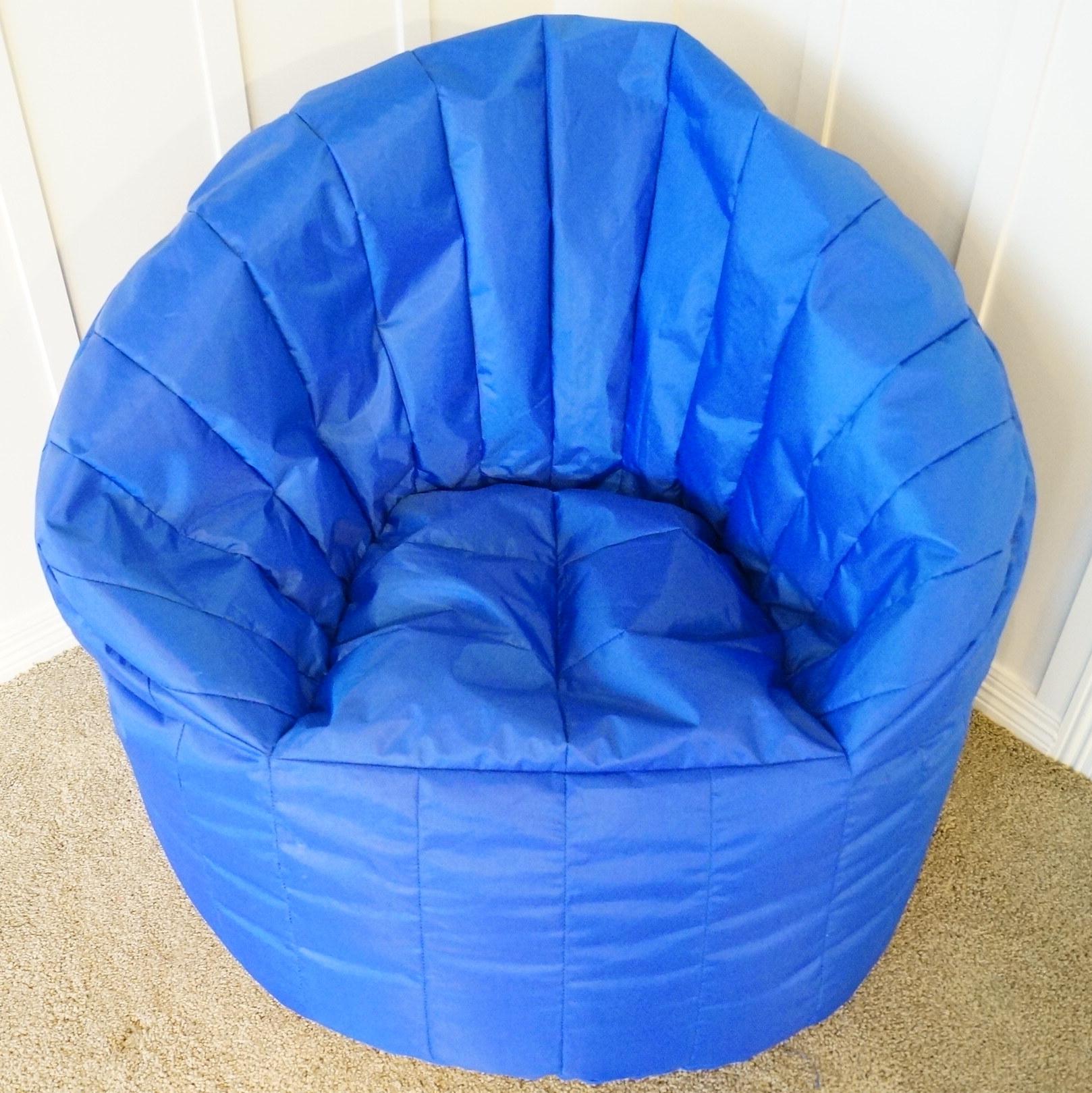 big joe bean bag chair oversized wooden rocking ebth