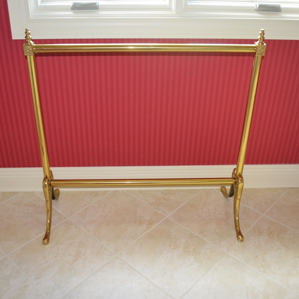 Vintage Brass Quilt Rack : EBTH
