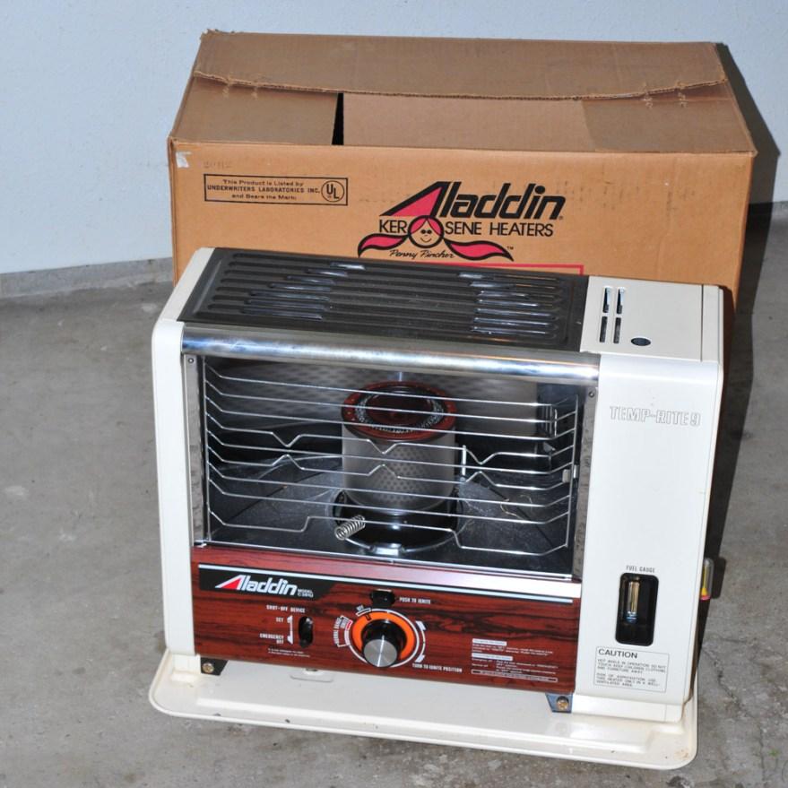 Aladdin Kerosene Heater Ebth