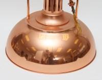 Copper Pendulum Light Fixture : EBTH