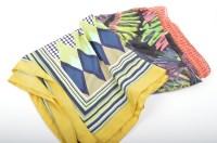 Large Bold Scarves, Including Vintage Tie Rack London : EBTH