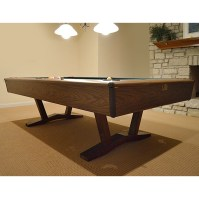 Mid Century Cue Master Pool Table with Accessories : EBTH