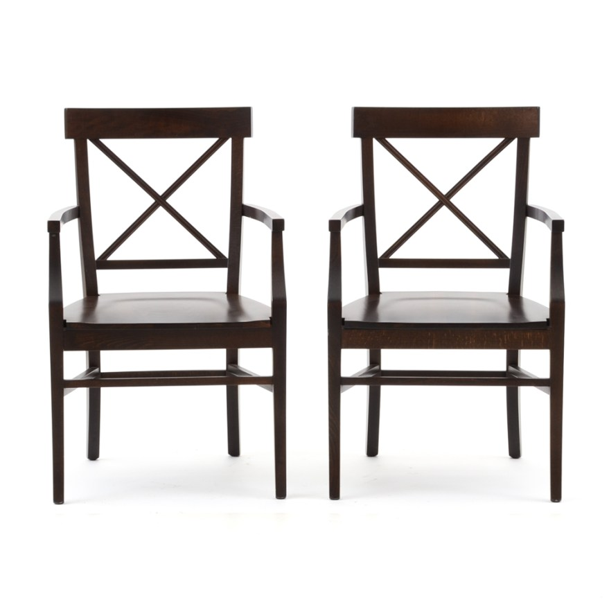 Pottery Barn Style Stefano Dining Chairs  EBTH