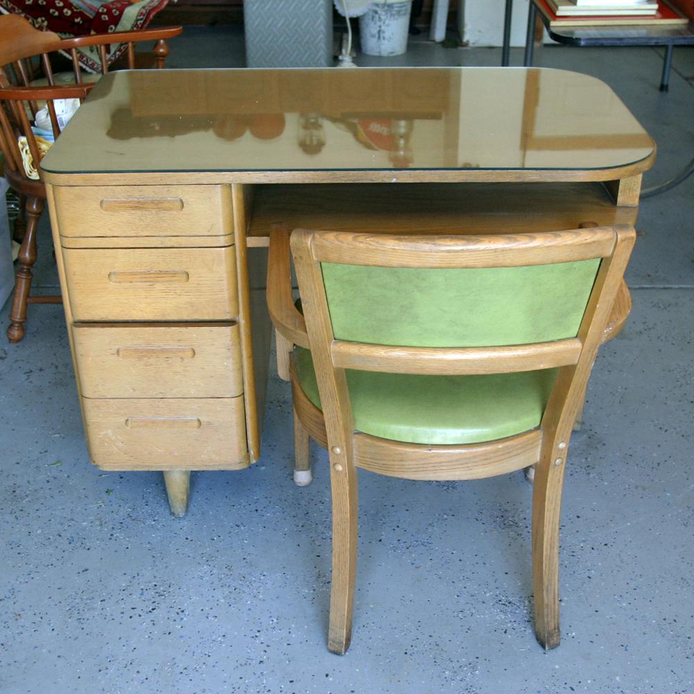 huntington chair corporation kartell ghost knock off desk and armchair ebth