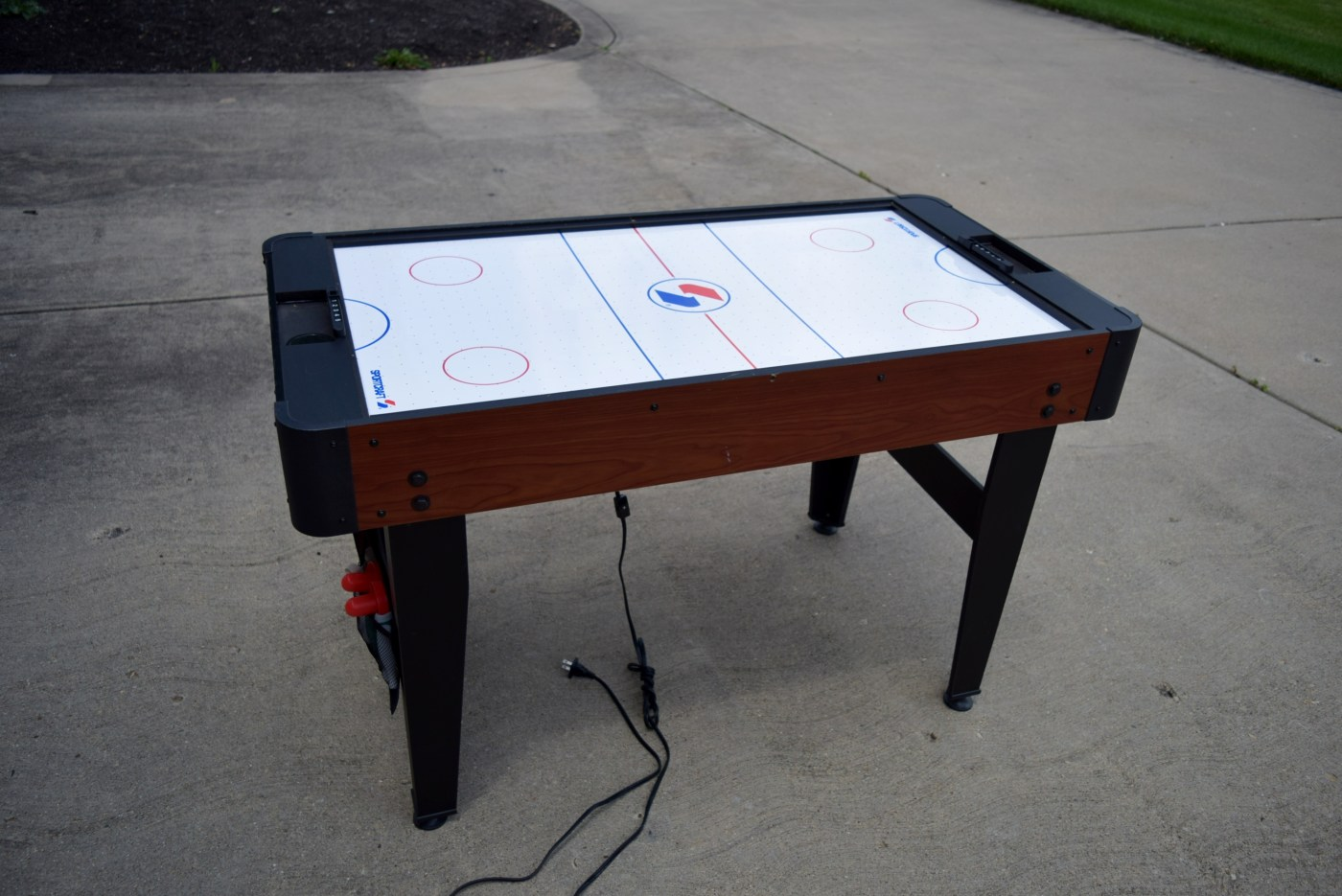 Sportcraft Multi-game Table Including Foosball Air Hockey Tennis And Ebth