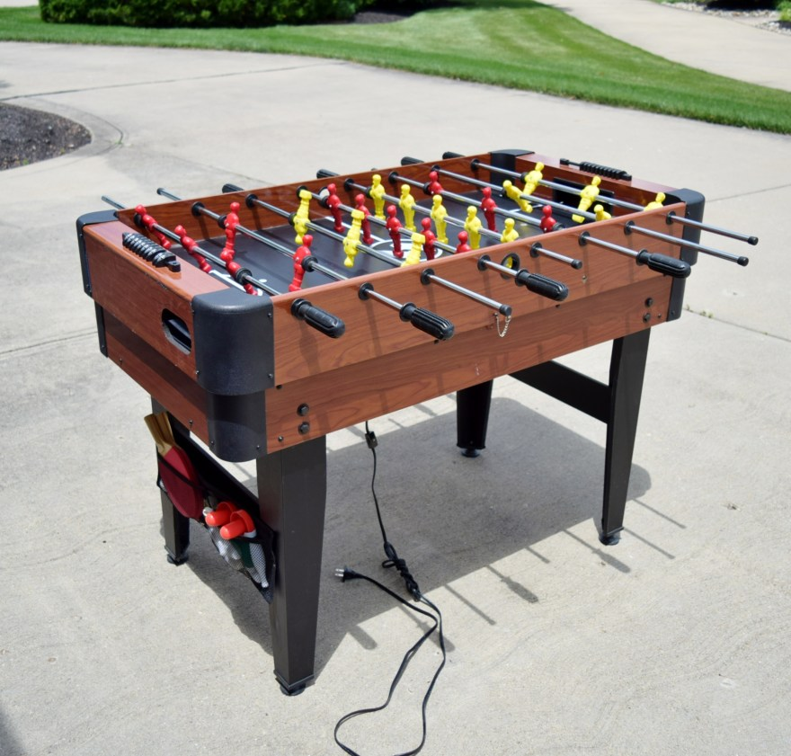 Sportcraft Multi-game Table Including Foosball Air Hockey Tennis And Ebth