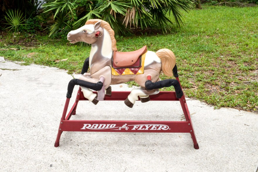 Radio Flyer Rocking Horse Ebth