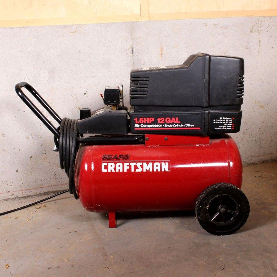 Sears Tools Air Compressor