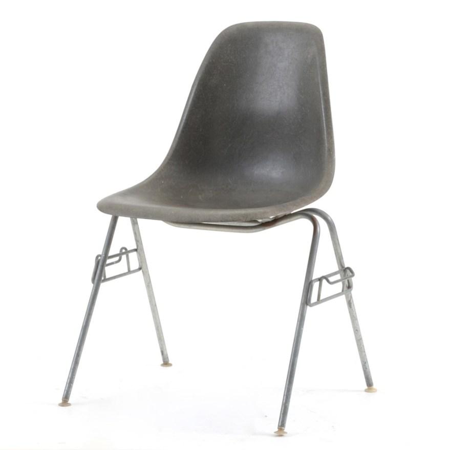 Herman Miller Eames Fiberglass Shell Chairs