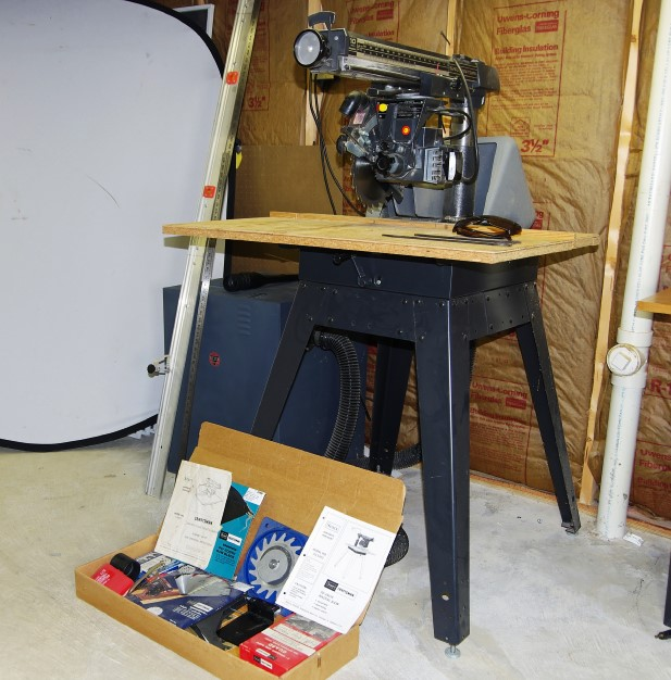 Craftsman 10 Radial Arm Saw Dust Collection