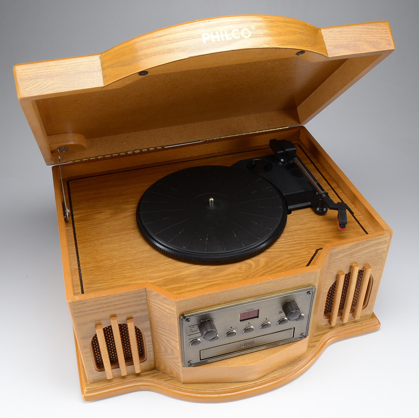 Philco Turntable Cd Player With Cassette Ebth