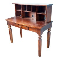 Wooden Desk with Cubby Holes : EBTH