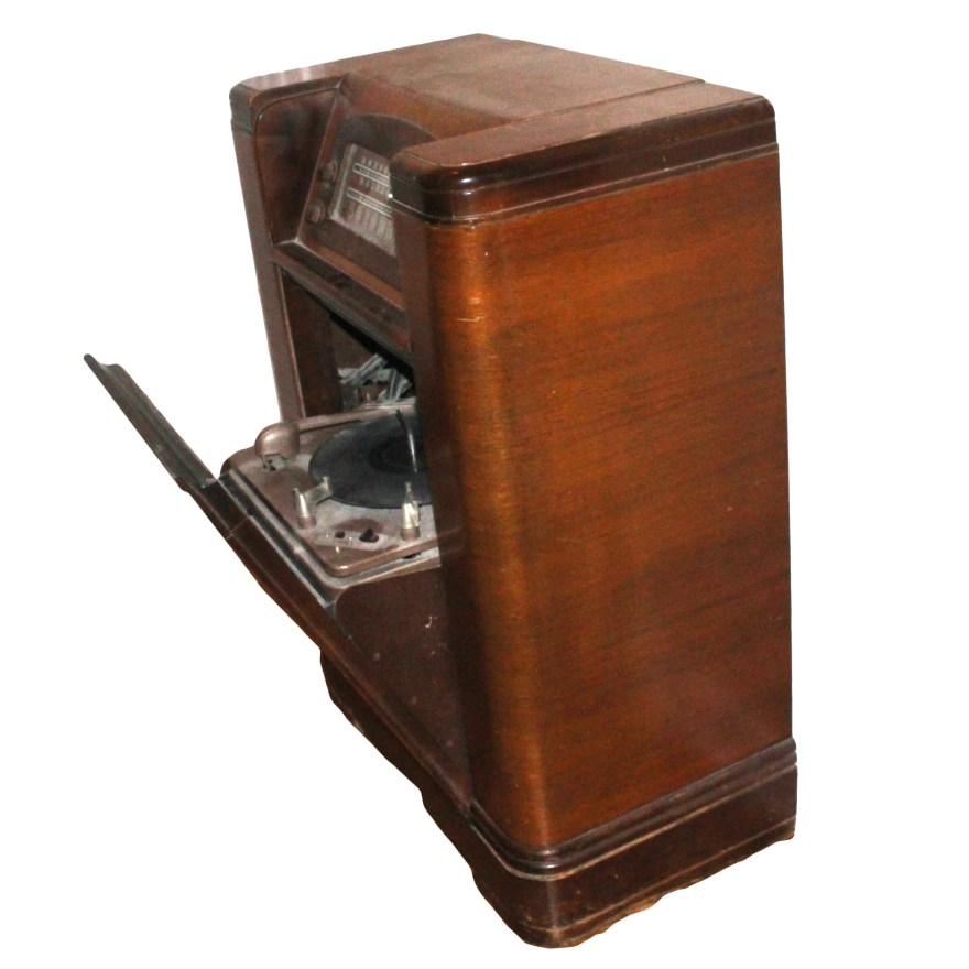 Vintage 1947 Philco Radio And Turntable Ebth