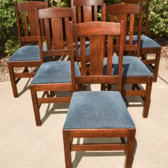 Arts And Crafts Style Chair French Art Deco Leather Club Chairs Dining Ebth