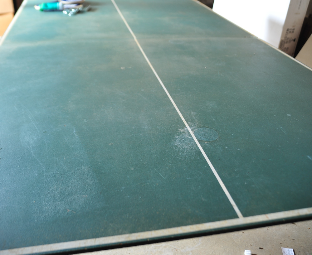 Regulation Size Ping Pong Table : EBTH