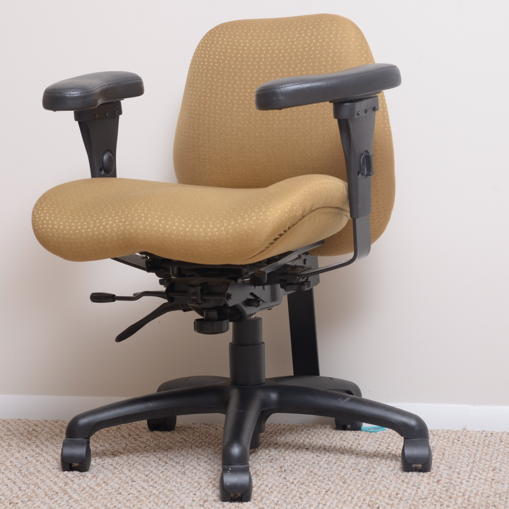 chair on wheels guitar playing kamor furniture ltd desk ebth