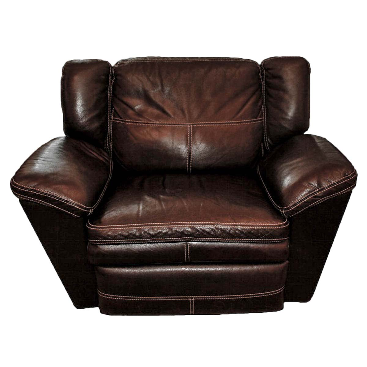 oversized leather chair small club chairs ebth