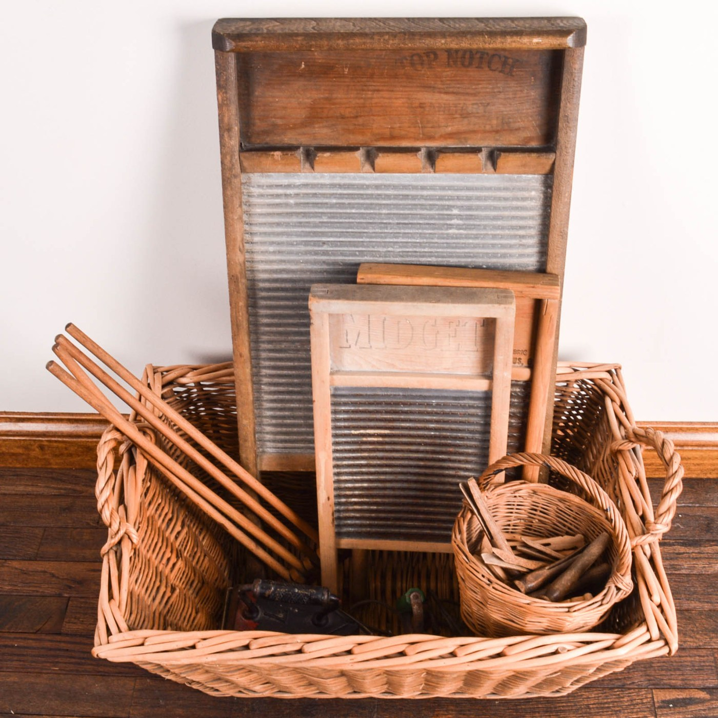 Vintage Laundry Tools Ebth