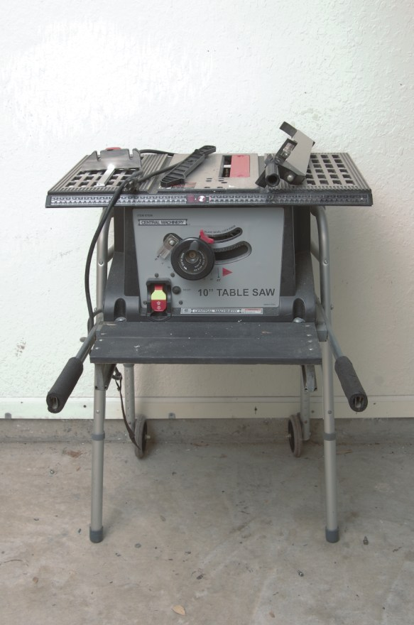 Central Machinery Table Saw