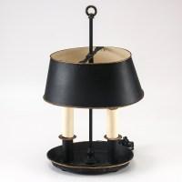 Black Iron Table Lamp : EBTH