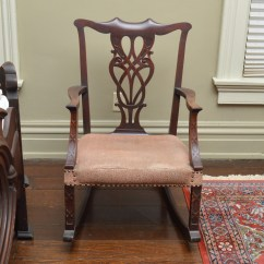 Chippendale Rocking Chair Jake And The Neverland Pirates Antique Style Ebth