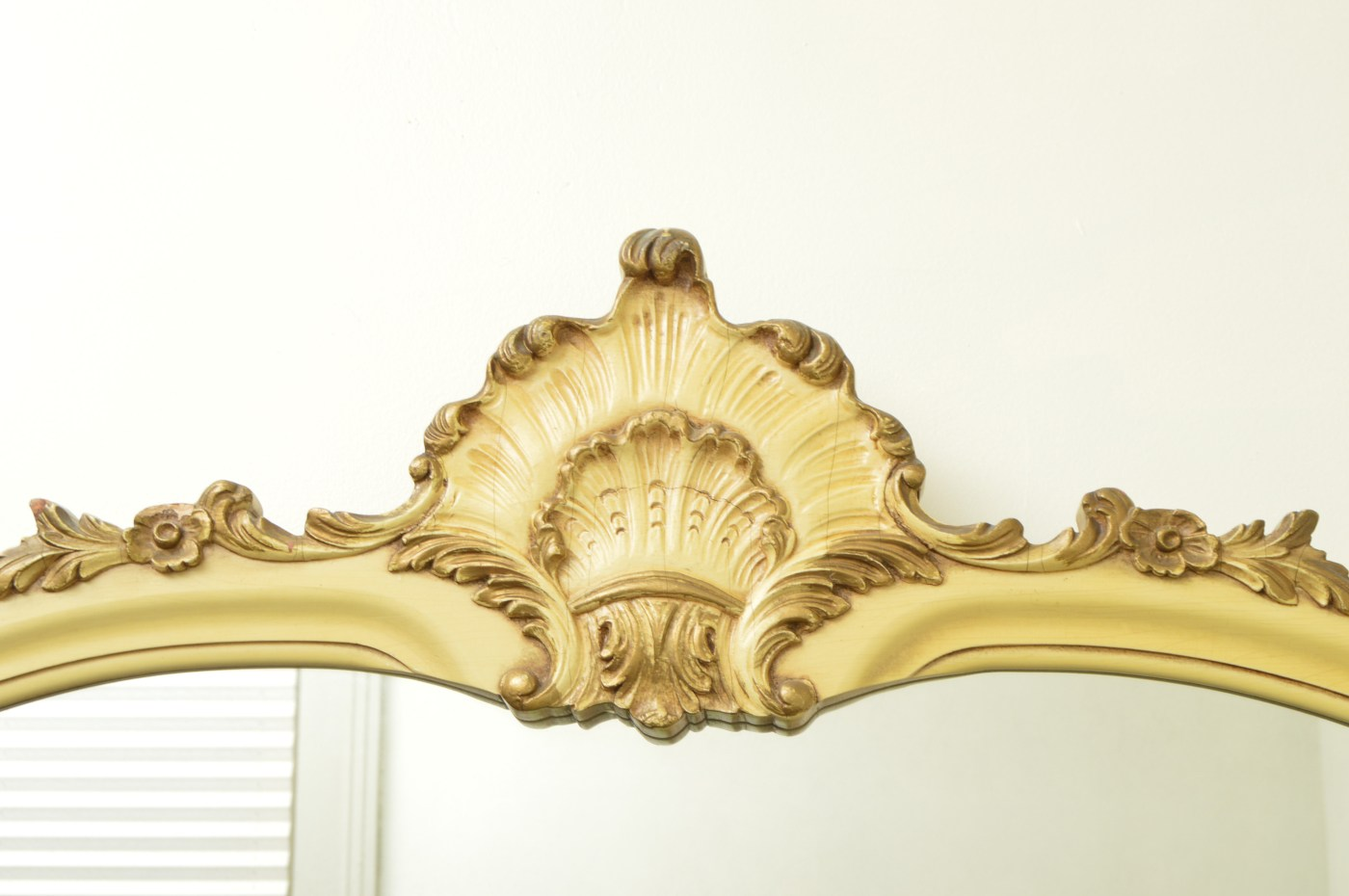 Antique French Provincial Style Wall Mirror : EBTH
