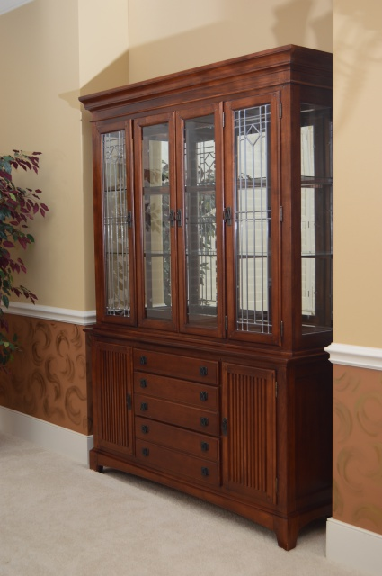 Mission Style China Cabinet by Legacy  EBTH