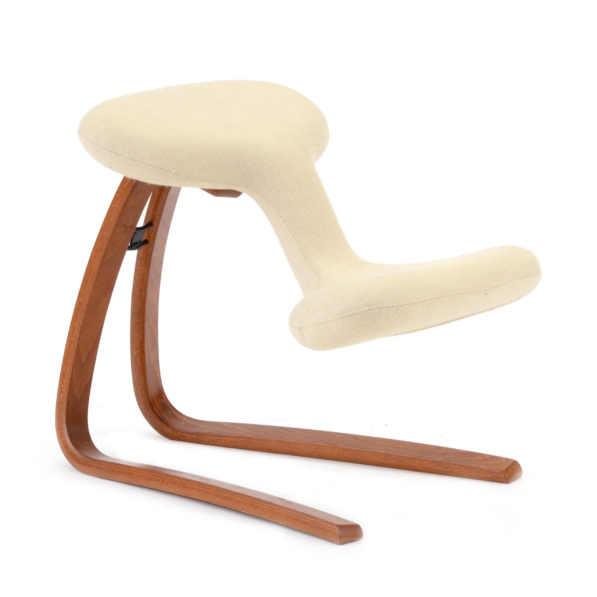 ergonomic chair norway comfortable bean bag chairs oddvin rykken balans ebth
