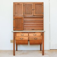 Antique Oak Hoosier Cabinet : EBTH