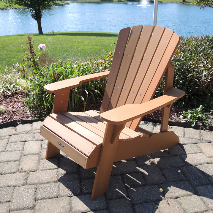 Lifetime Adirondack Chair Lifetime Simulated Wood Patio Adirondack Chair 60064 Jerusalem House
