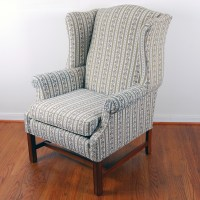 Ethan Allen Traditional Classic Wingback Chair : EBTH