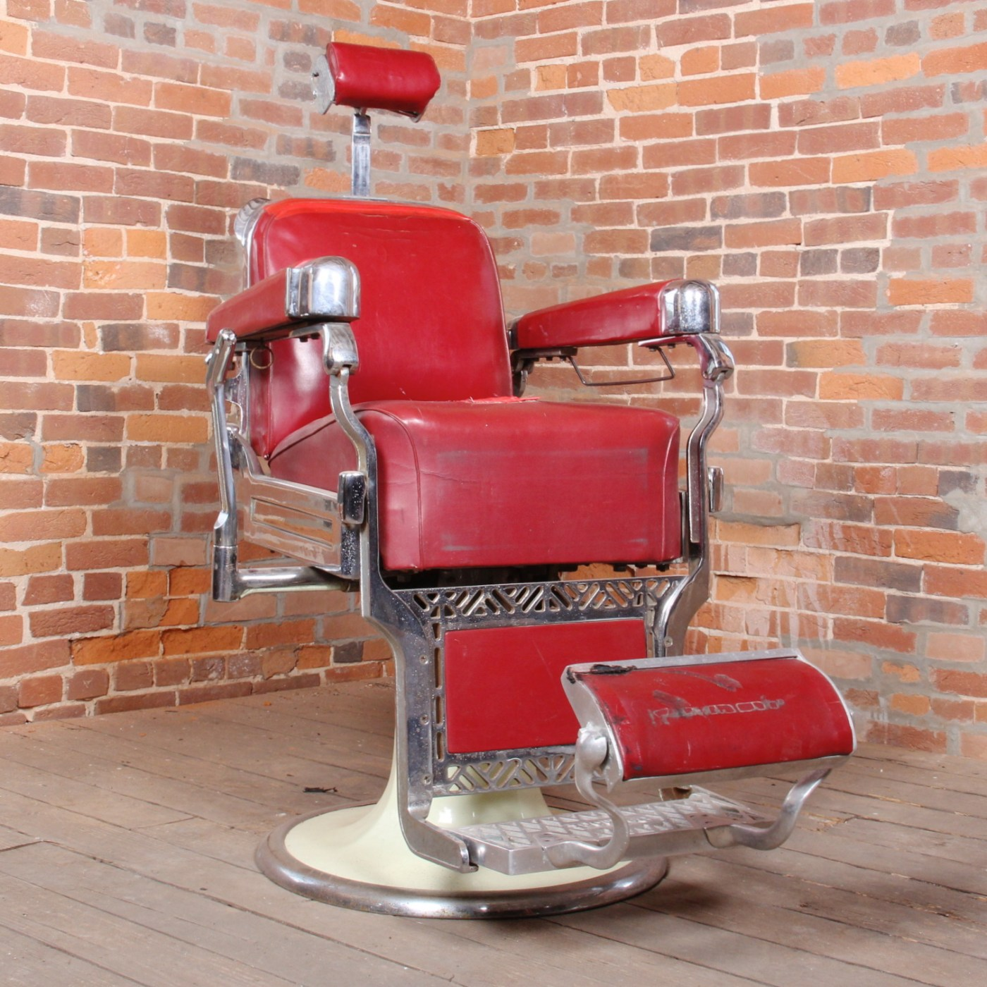 Belmont Barber Chair For Sale Vintage Belmont Barbers Chair Ebth