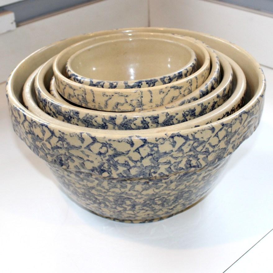 Vintage Roseville Ransbottom Mixing Bowls