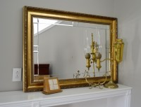 Decorative Wall Mirror and Brass Home Accessories : EBTH