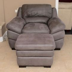 Oversized Upholstered Chair Inexpensive Ghost Chairs American Signature And Ottoman Ebth