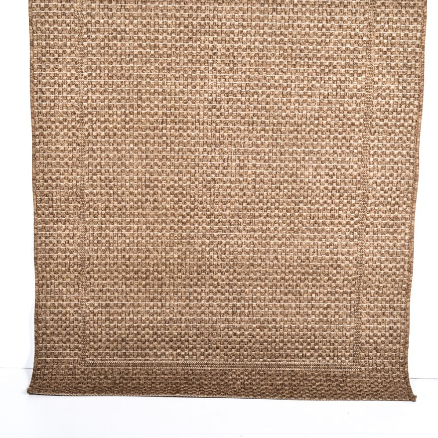 "Crate And Barrel ""savannah Cane"" Indoor Outdoor Area Rug"
