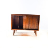 Mid Century Modern Record Cabinet : EBTH