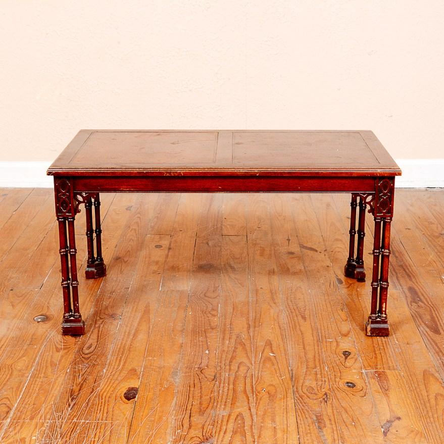 Vintage Fine Arts Furniture Company Coffee Table Ebth