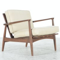 Mid Century Modern Chair With Metal Frame : EBTH