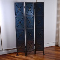 Wrought Iron Decorative Folding Screen : EBTH