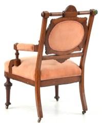 Victorian Renaissance Revival Arm Chair : EBTH