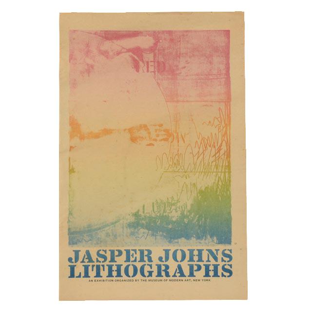 "Original 1970 Exhibition Publication ""jasper Johns Lithographs"" Museum Of Modern Art"