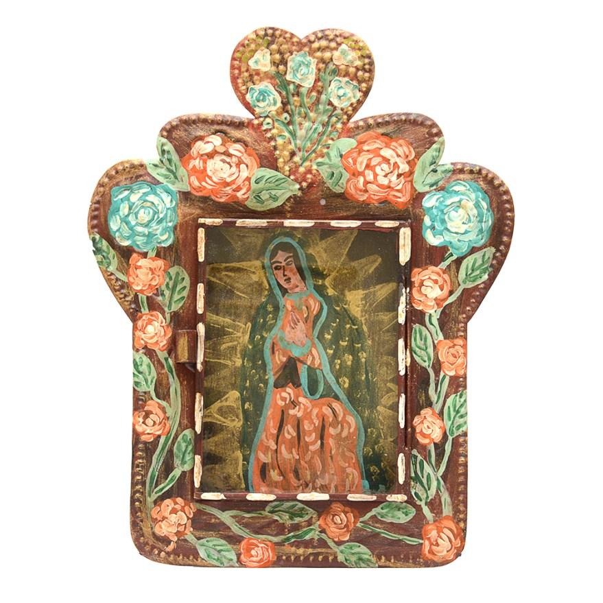 Mexican Hammered Tin Wall Folk Art Hanging : EBTH