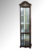 Wooden Curio Cabinet : EBTH
