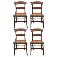 Caned Seat Dining Chairs : EBTH