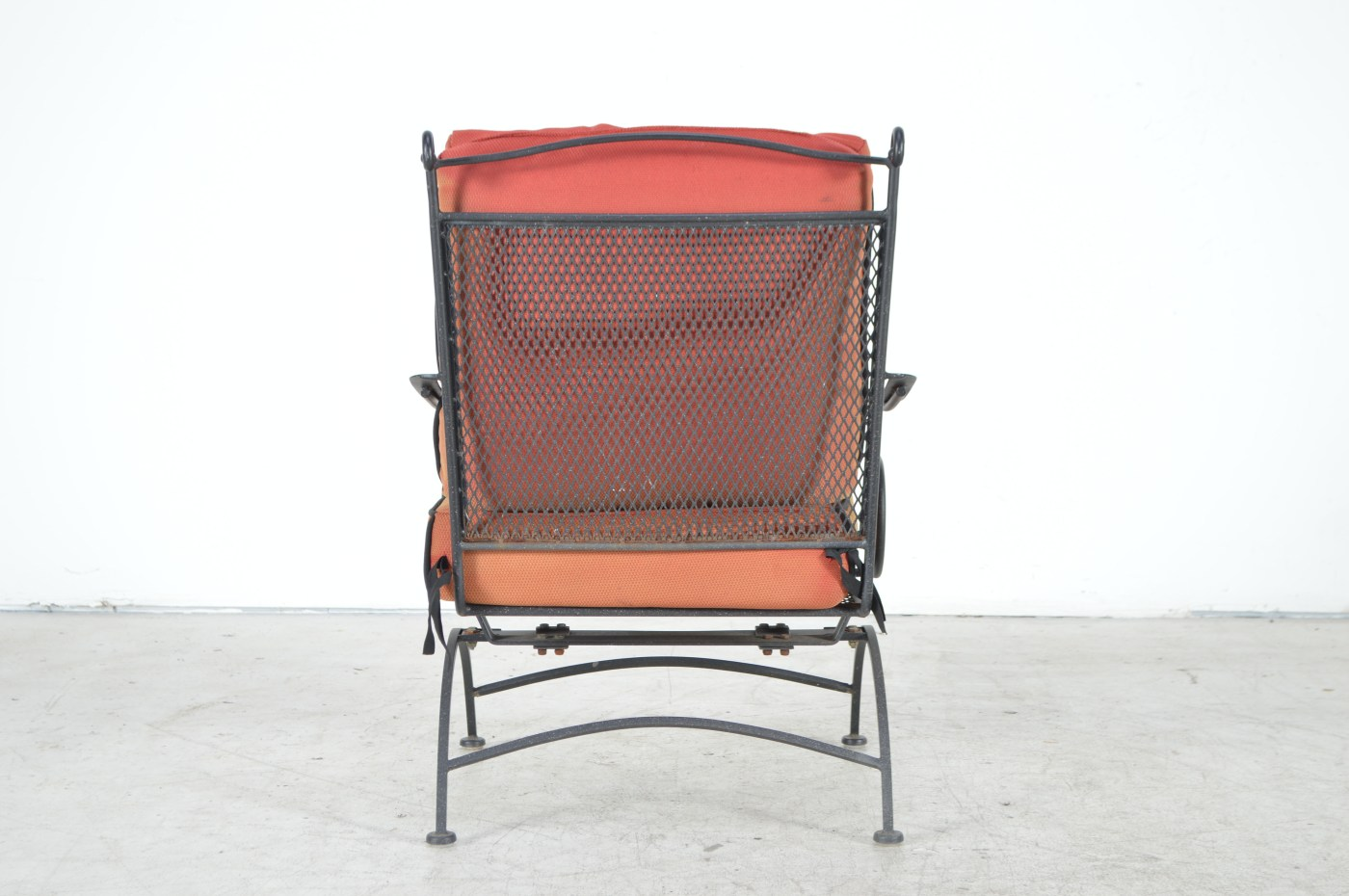 Black Metal Patio Chairs Black Metal Patio Chairs Ebth