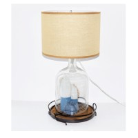 Nautical Theme Glass Table Lamp : EBTH