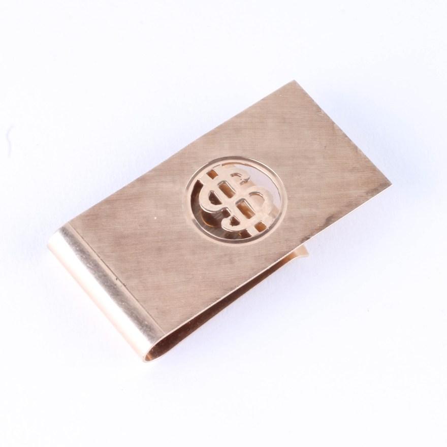 14k Gold Money Clip Ebth
