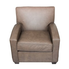 Ethan Allen Leather Chair Double Recliner Chairs With Cup Holders Ebth